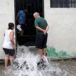 el Salvador inundación - tormenta tropical Amanda, damnificados, lluvias, huracán inundaciones