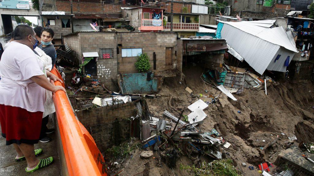 El Salvador - tormenta tropical Amanda, damnificados, lluvias, huracán