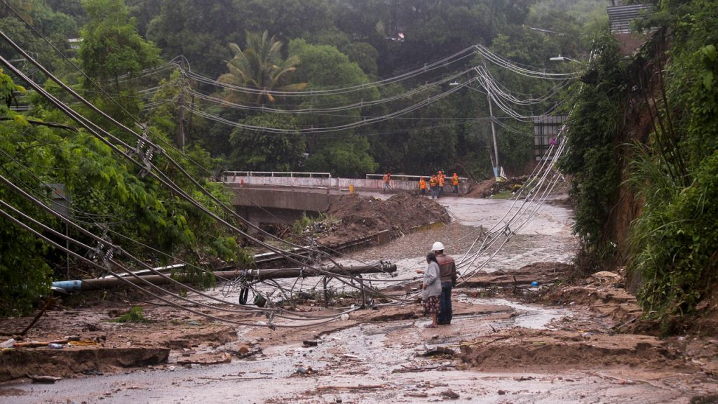 El Salvador tormenta lluvias inundaciones