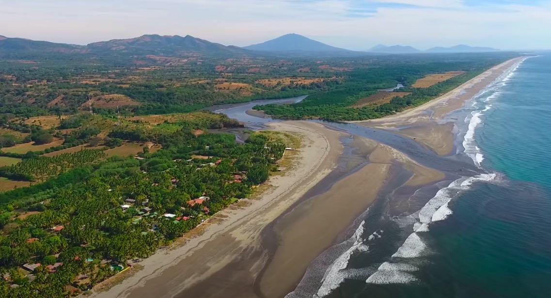 Esta es la playa secreta de El Salvador que está causando sensación