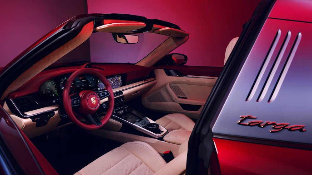 Porsche Heritage interiores