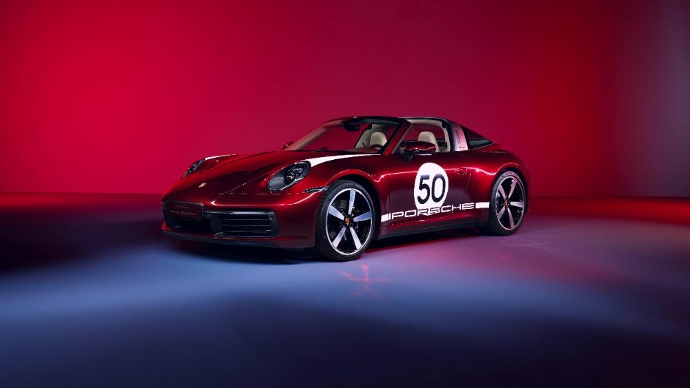 auto Porsche Heritage