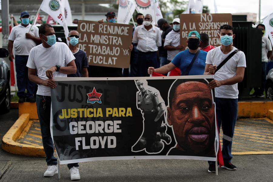 """Costa Rica:El homicidio de George Floyd es un """"golpe"""" a los valores democráticos"""