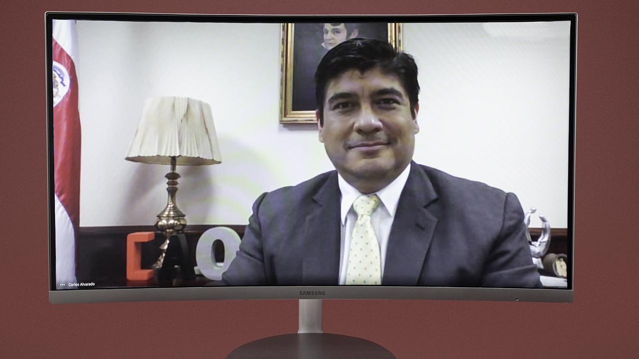"""""""Este ha sido uno de los años más duros para Costa Rica"""": Carlos Alvarado"""
