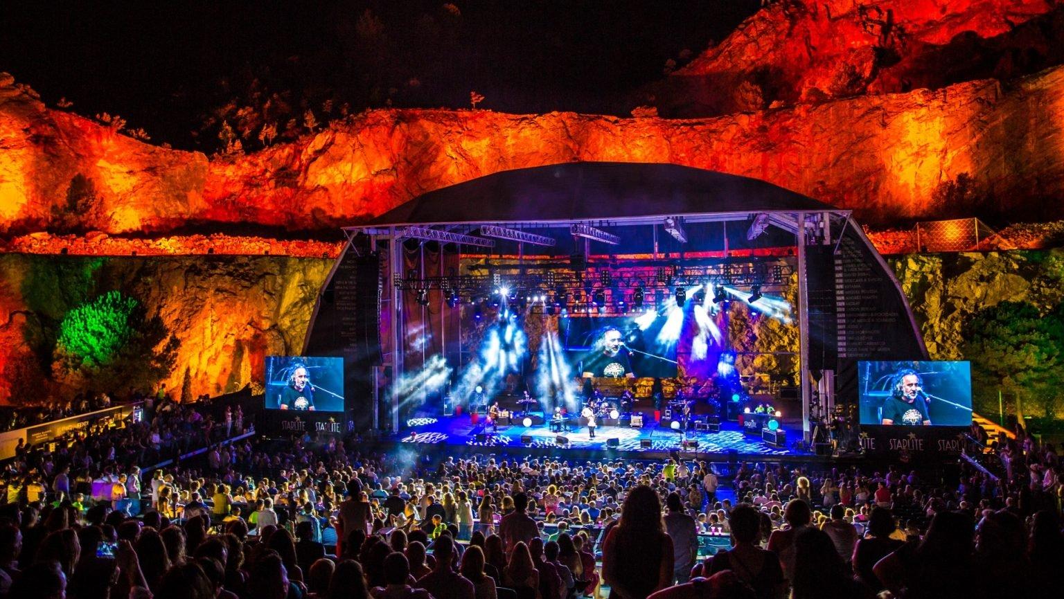 Starlite lidera el regreso de los conciertos a España