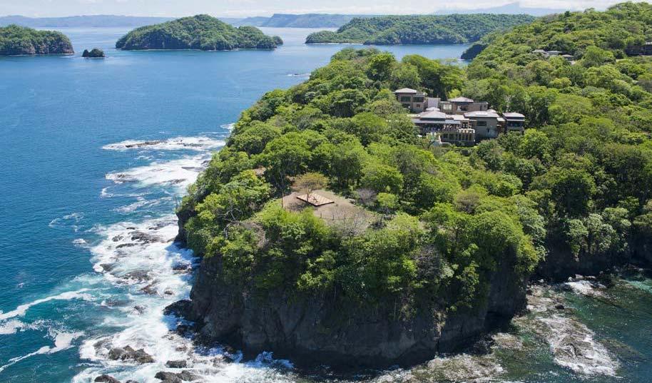 Esta es la villa de lujo preferida por las celebridades en Costa Rica