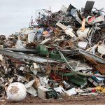 basura basurero consumismo chatarra metal reciclaje