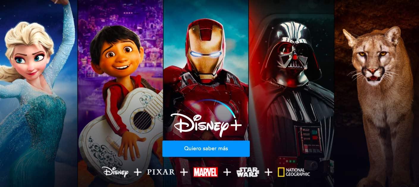 Confirmado: Disney+ llega a Latinoamérica el próximo noviembre