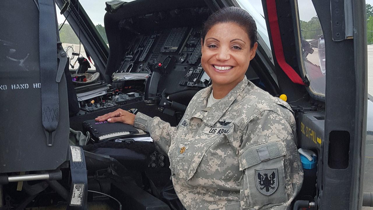 Marisol Chalas, el 'águila de salvamento' dominicana