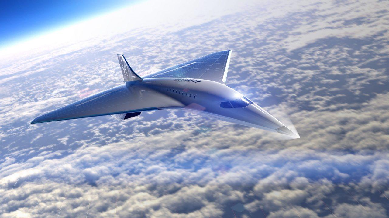 Virgin Galactic dio a conocer  cómo será su avión supersónico
