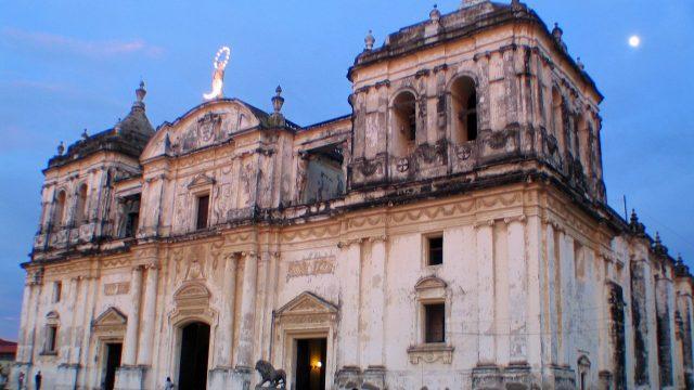 León Nicaragua ciudad colonial
