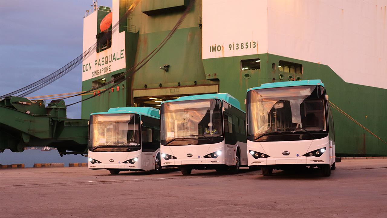 Alemania dona buses eléctricos a Costa Rica