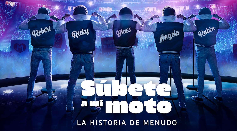 'Súbete a mi moto', la serie de Menudo llegará a Amazon Prime Video