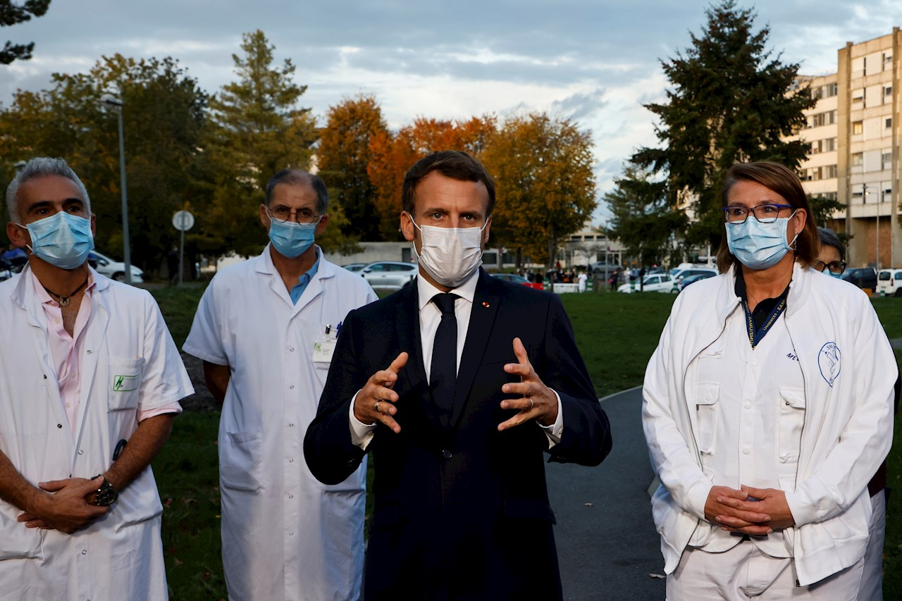 Francia supera el millón de contagios con un nuevo récord diario