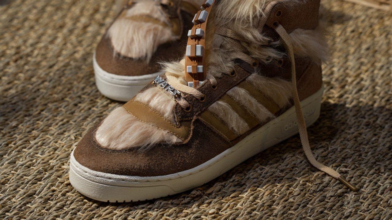 Chewbacca destaca en colección de Adidas: 40 aniversario de Star Wars