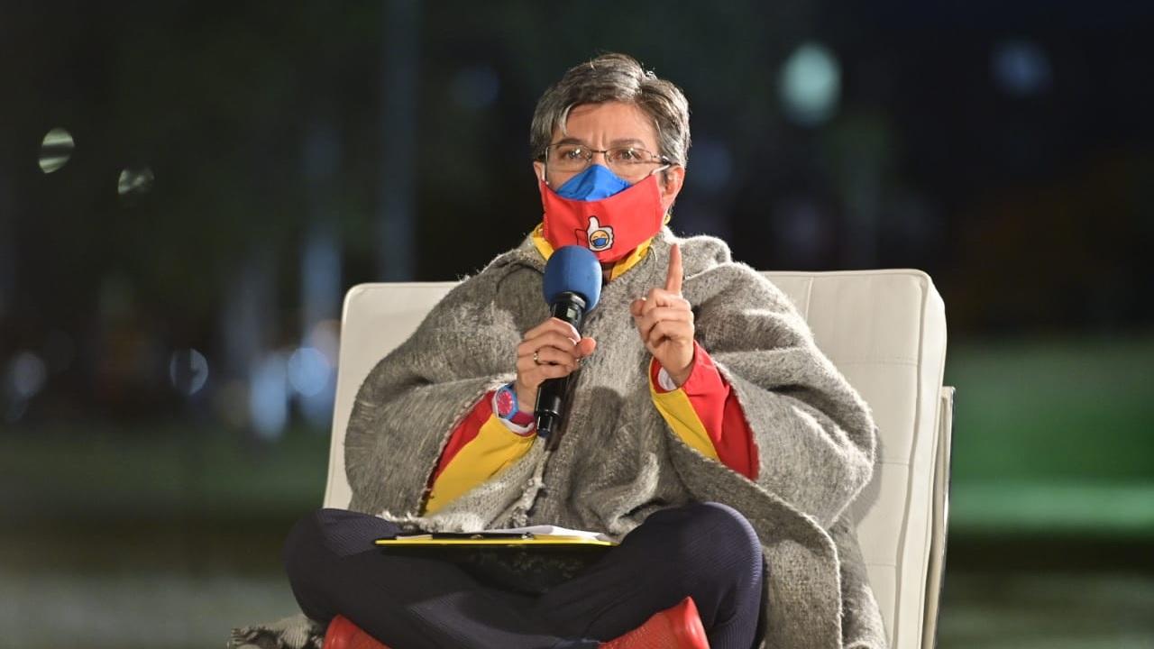 Alcaldesa de Bogotá es criticada por comentarios xenófobos