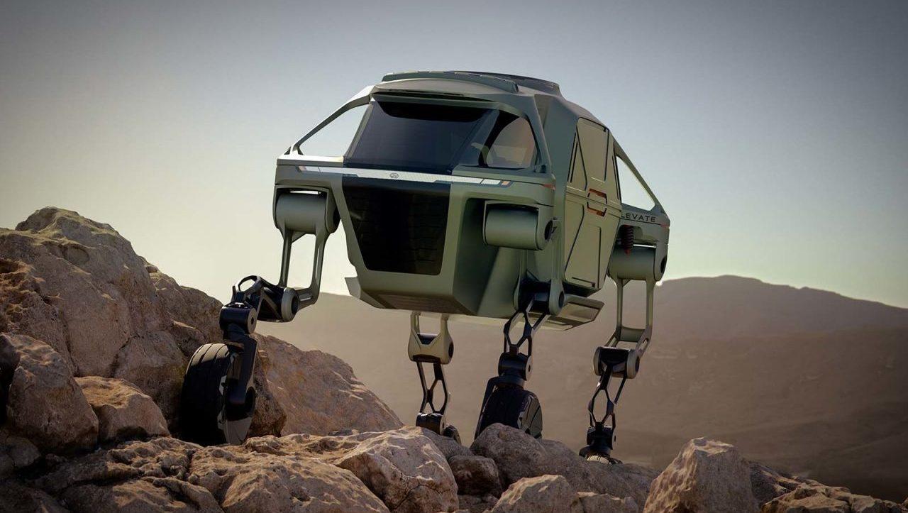 ¡Hyundai desarrollará autos que podrán caminar!