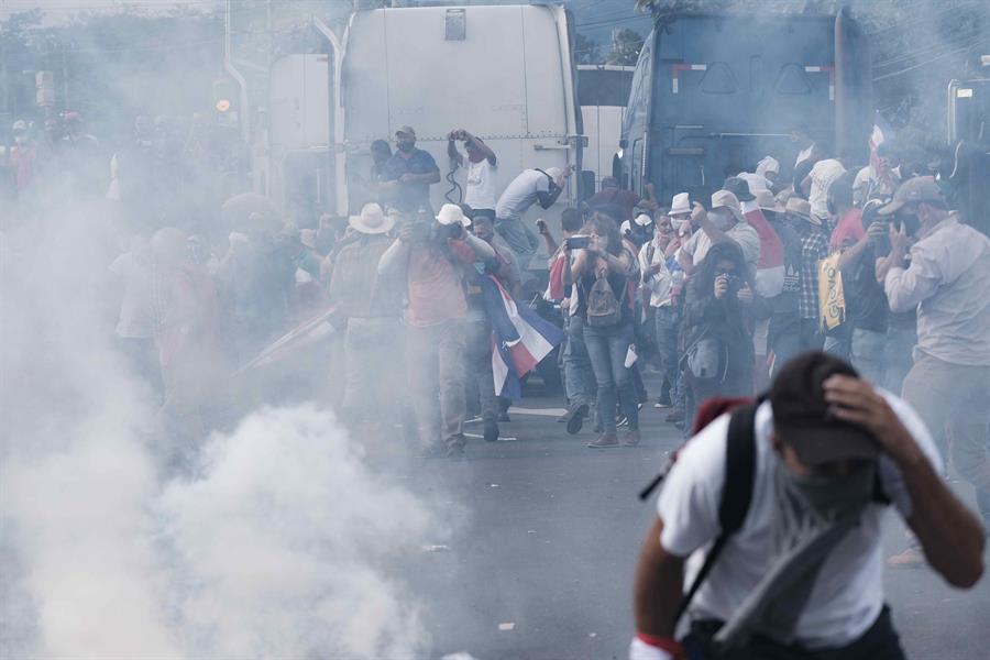 Cinco puntos para entender las protestas en Costa Rica