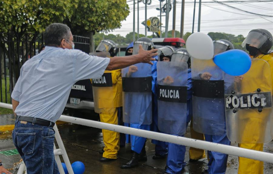 """CIDH registra 1,614 detenciones """"arbitrarias"""" de opositores en Nicaragua"""