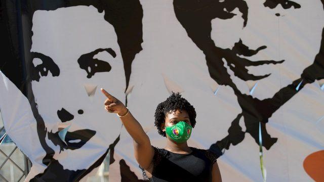 Día Internacional de la No Violencia contra la Mujer. Foto: EFE