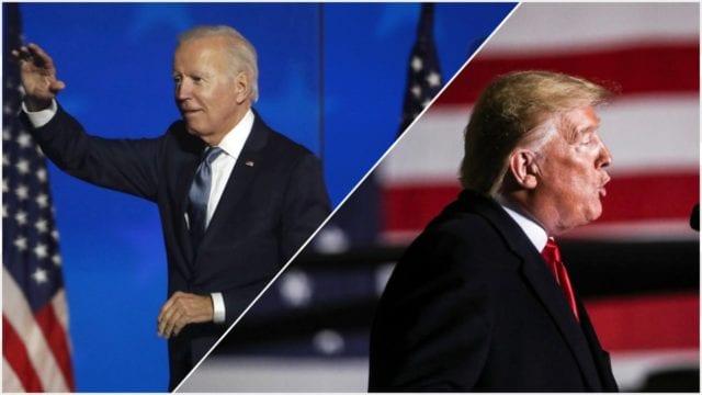 Biden pide unirse contra la pandemia, Trump sigue enredado en pleitos