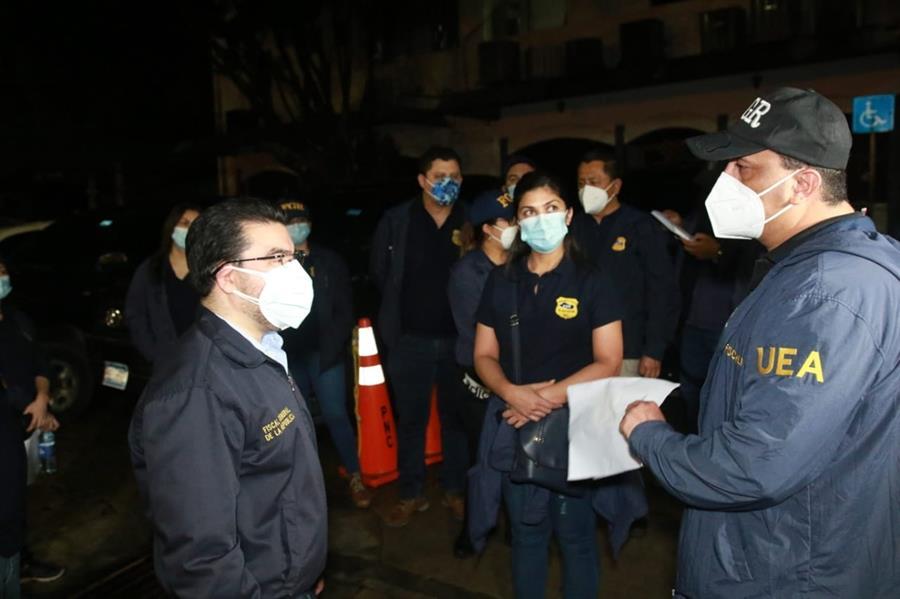 Una operación conjunta con EU deja 572 detenidos en El Salvador