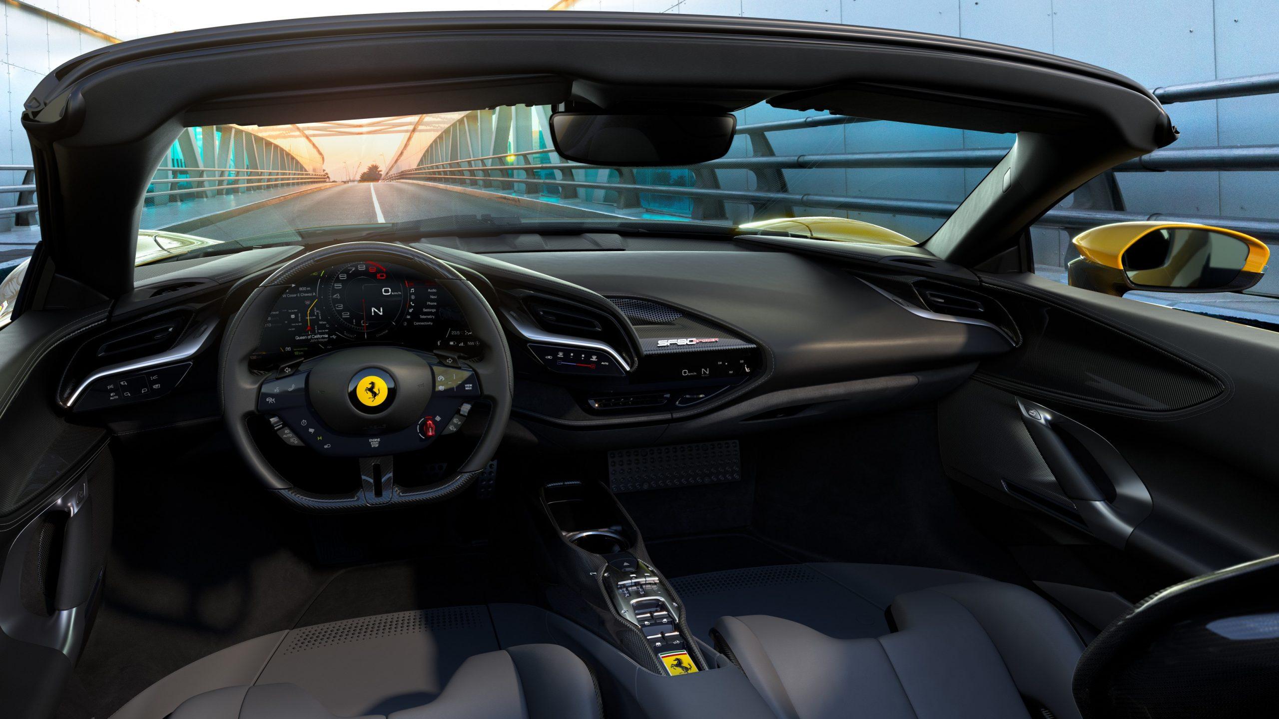 Ferrari confirma lanzamiento de su primer modelo eléctrico para 2025