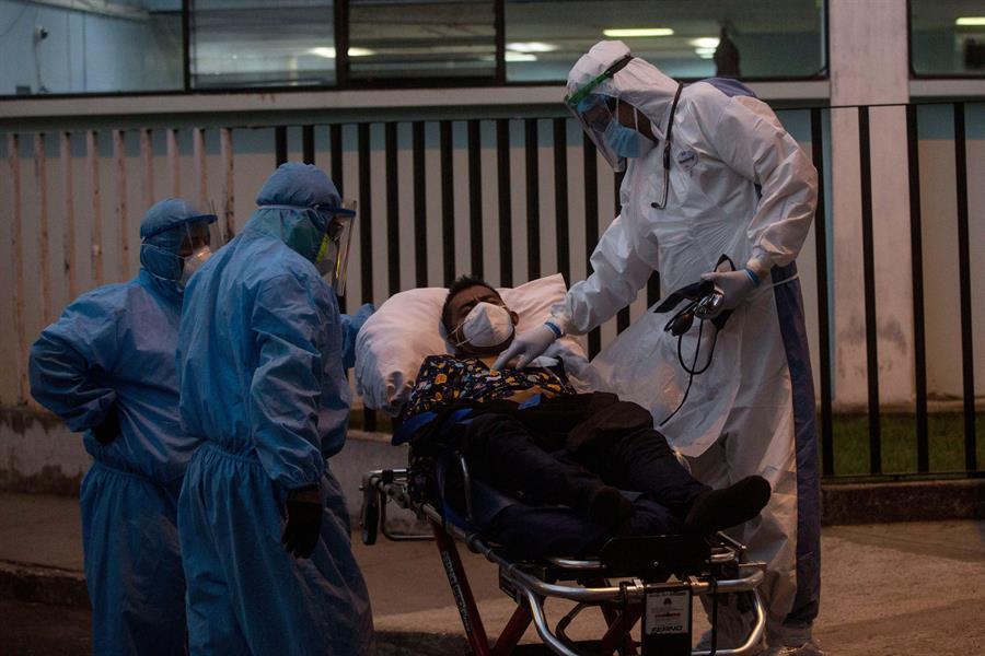 Guatemala suma 25 muertes más por COVID-19 y 1,596 nuevos contagios