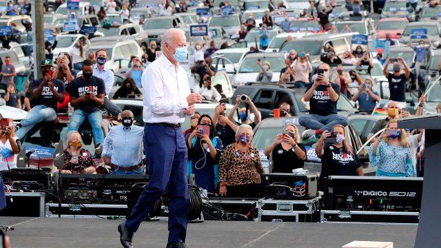elecciones estados unidos 2020 - Joe Biden campañas