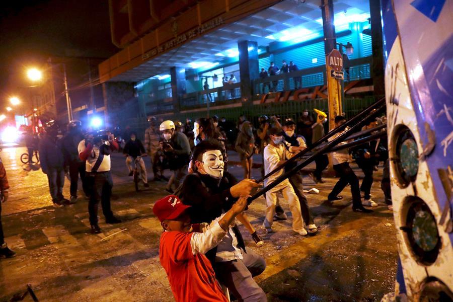 """Ombudsman de Guatemala señala a la OEA que hay una """"crisis de gobernabilidad"""""""