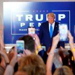 Trump noche de elecciones estados unidos 2020