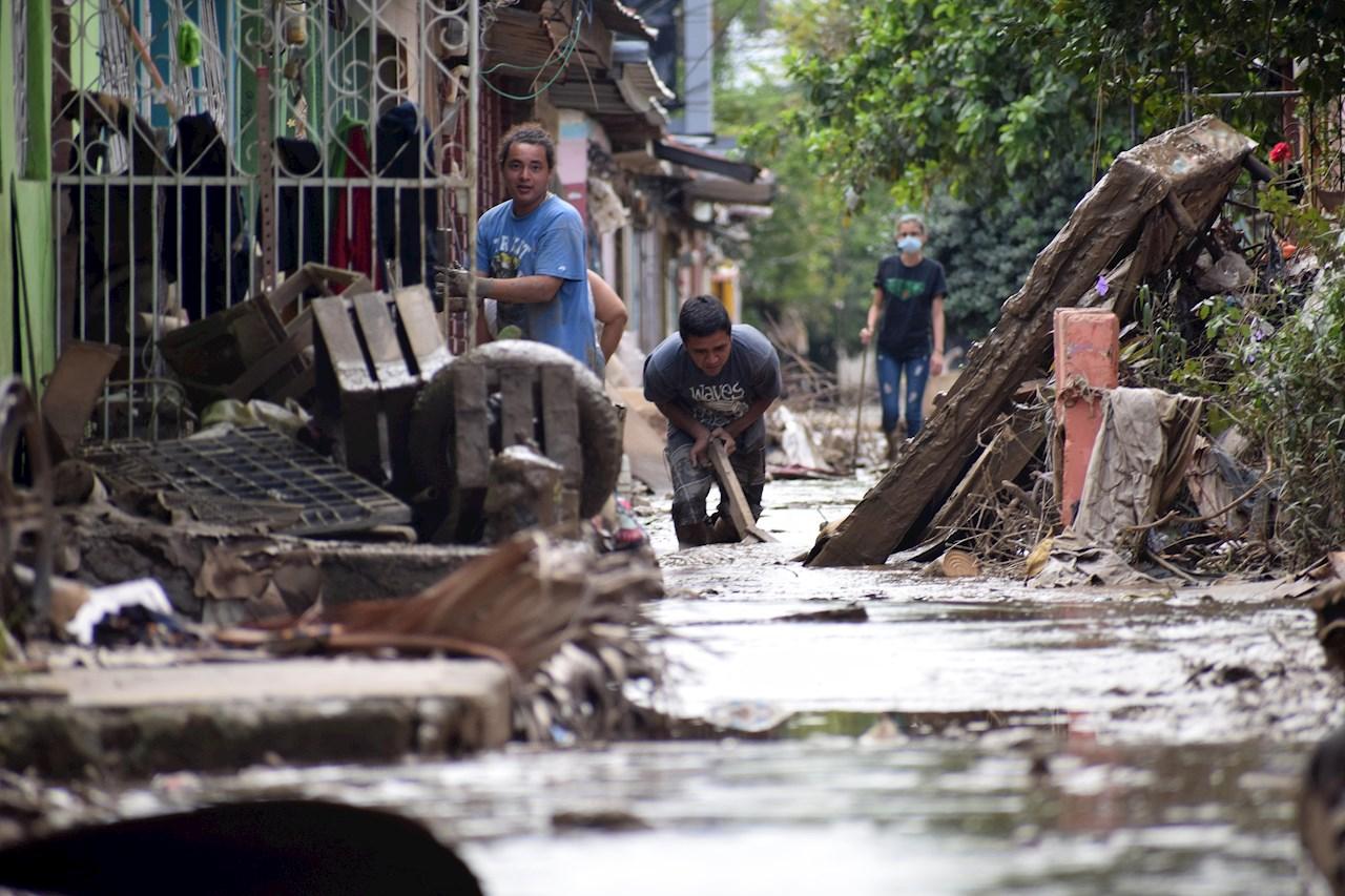 Honduras busca recursos externos para infraestructura dañada por Iota y Eta