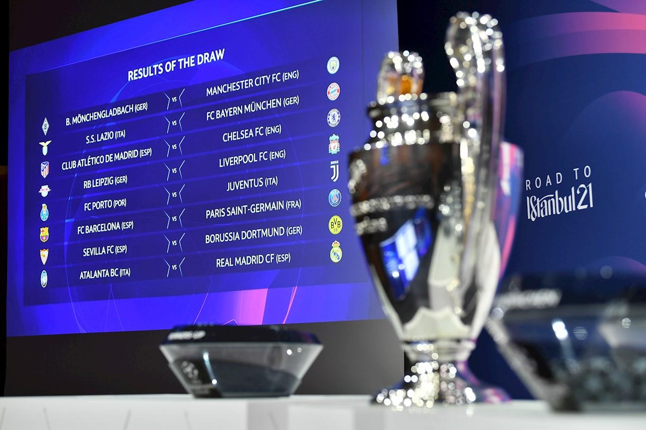Barcelona VS PSG, el duelo más atractivo de los octavos de final de la Champions League