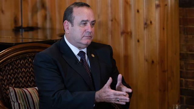 Alejandro Giammattei presidente de Guatemala 2