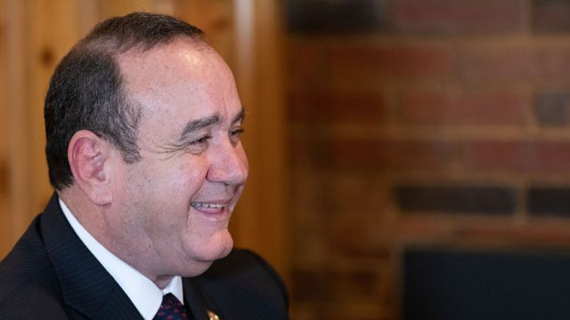 Alejandro Giammattei presidente de Guatemala 3