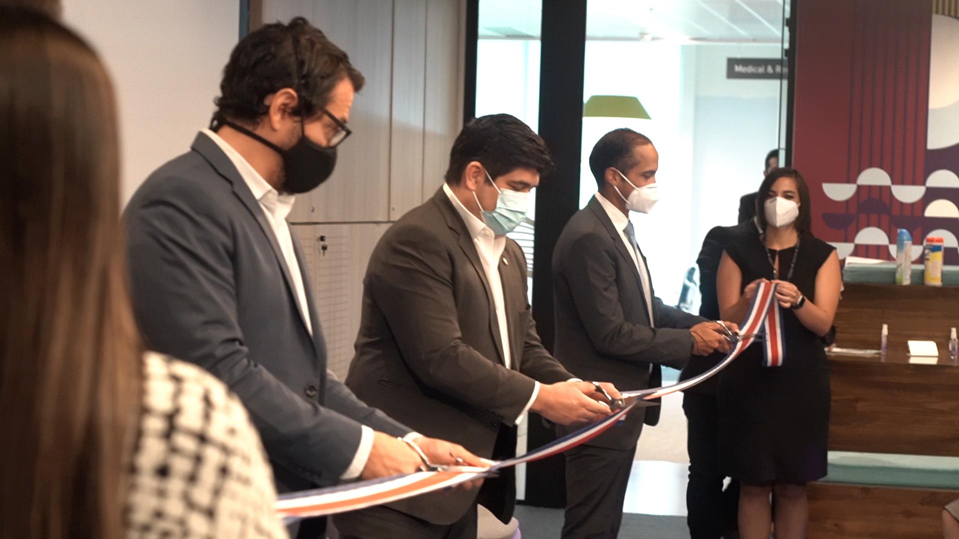 AstraZeneca inaugura nueva sede en Costa Rica