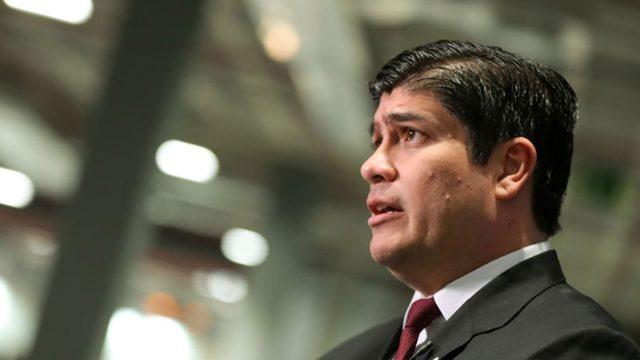 Carlos Alvarado Quesada presidente de Costa Rica 1