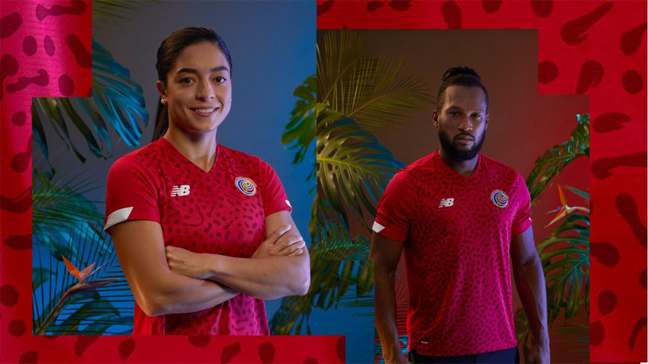 Nuevo uniforme de fútbol resalta la biodiversidad de Costa Rica