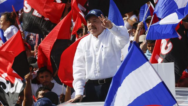 Daniel Ortega presidente de Nicaragua 3