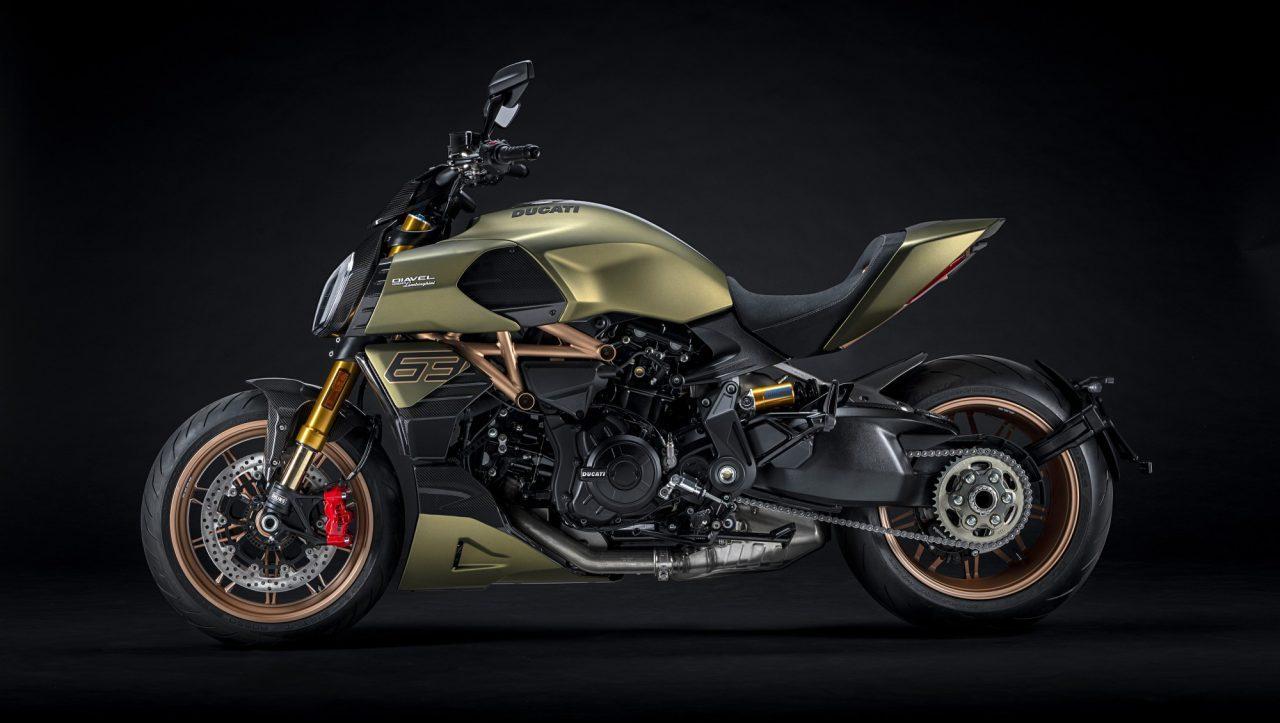 Ducati y Lamborghini crean motocicleta que roba suspiros a su paso