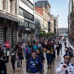 Gente compras centro Covid19 Pandemia Ciudad de México 2