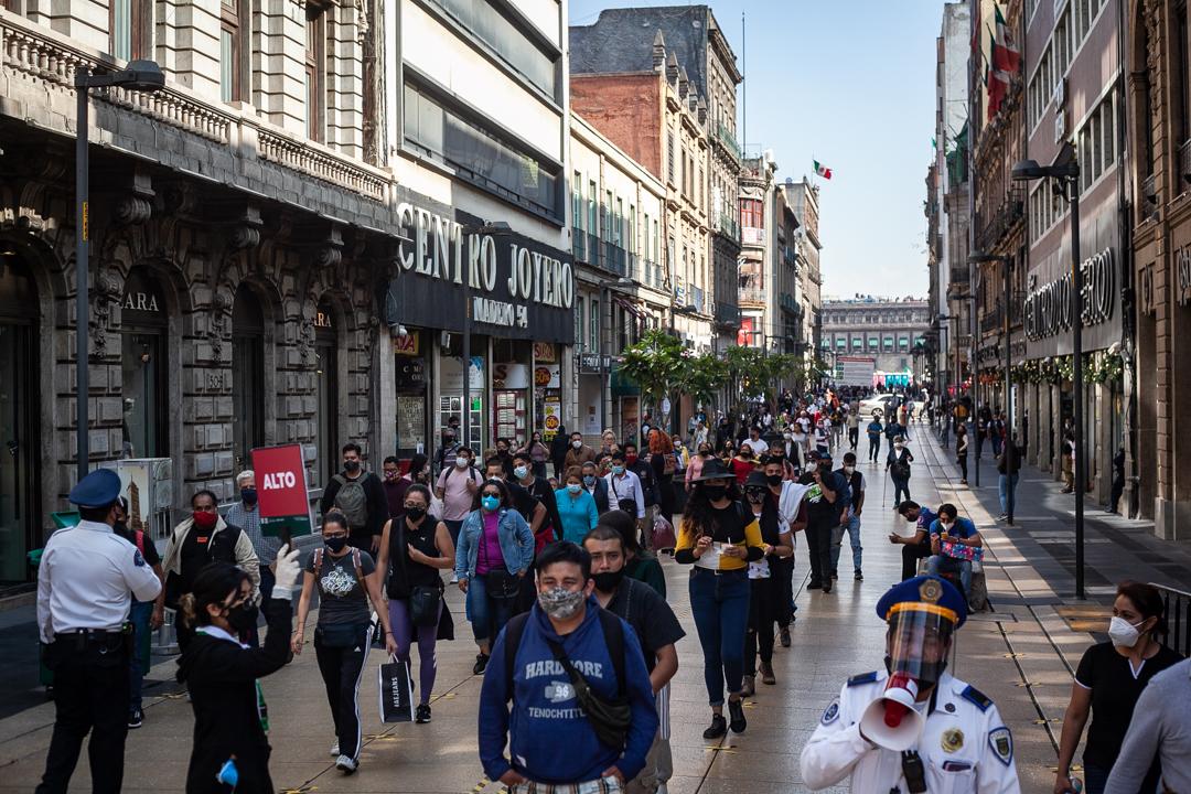 La pandemia decrece en Ciudad de México y se aproxima al riesgo bajo