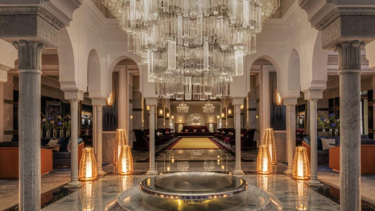 Este es el exclusivo hotel en Marruecos que impone por su arquitectura de palacio