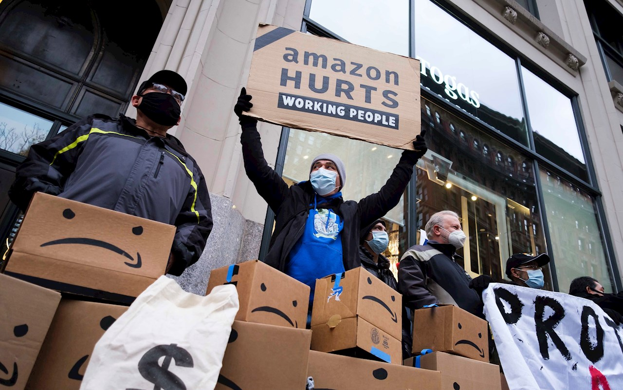 EU da vía libre a empleados de Amazon para formar su primer sindicato