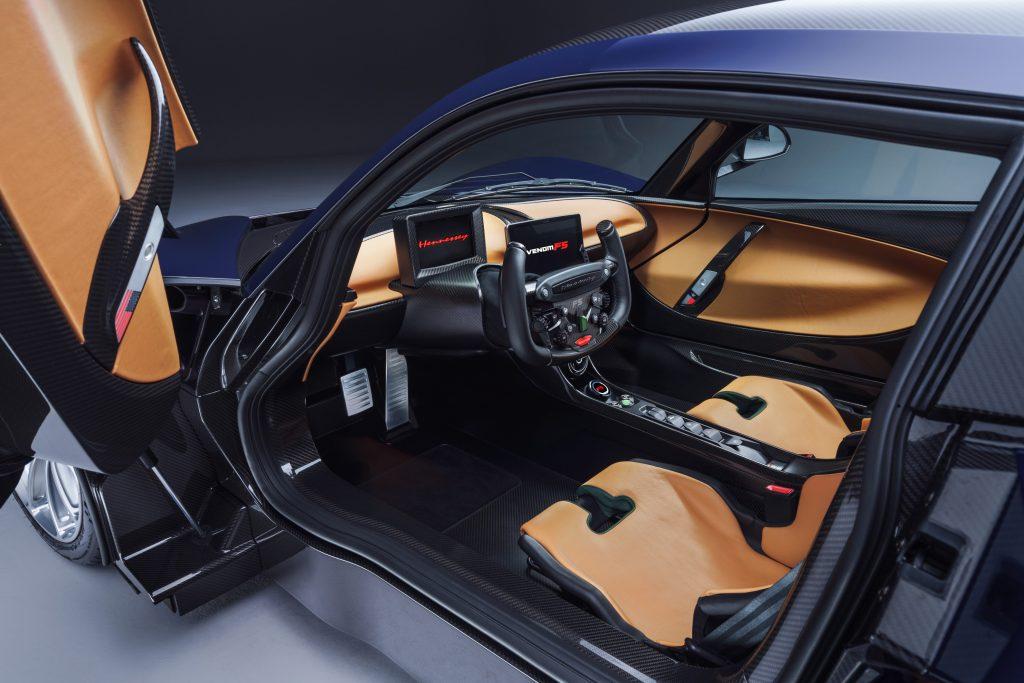 Hennessey hiperdeportivo auto Venom F5