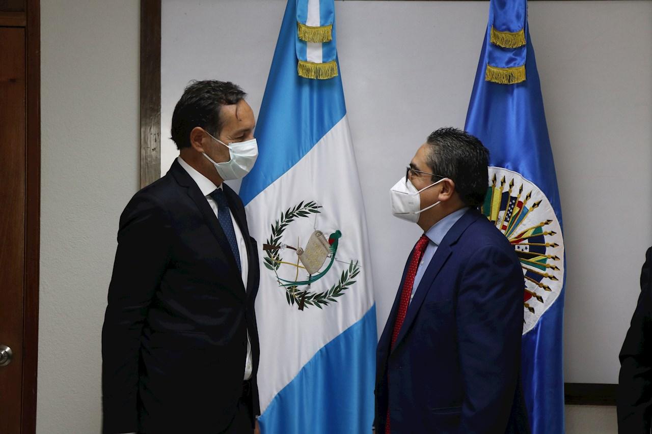 OEA culmina misión en Guatemala, rechazo de diversos sectores