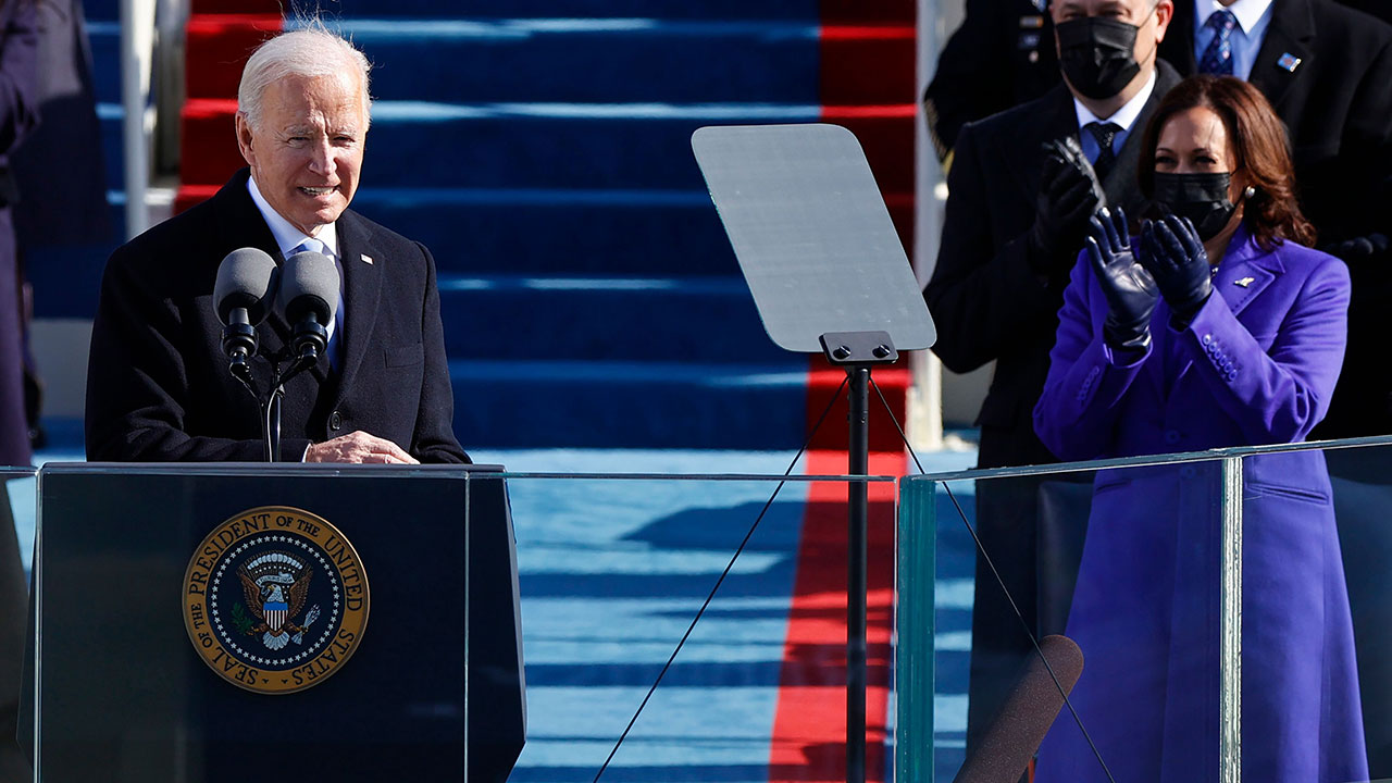 Así fue el discurso de Joe Biden como presidente de Estados Unidos