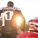 Ducati moto colección de moda