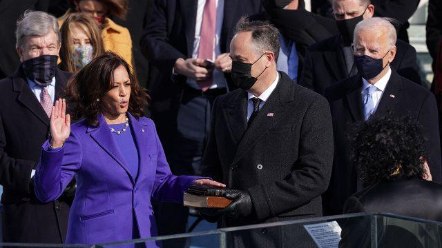 Kamala Harris Joe Biden Sworn In As 46th President Of The United States At U.S. Capitol Inauguration Ceremony