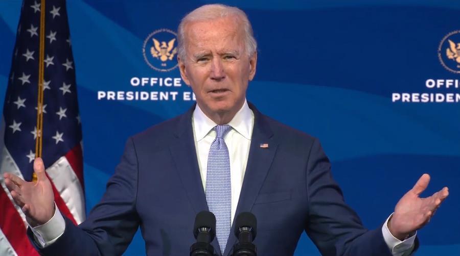 Biden descarta seguir disputa de Trump sobre normas de migración